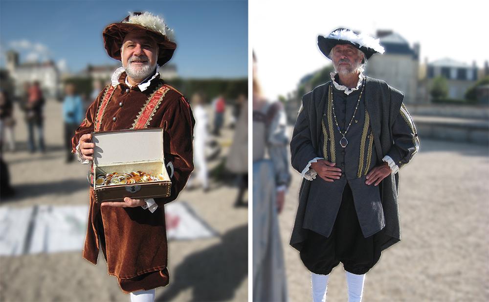 Costumes masculins renaissance