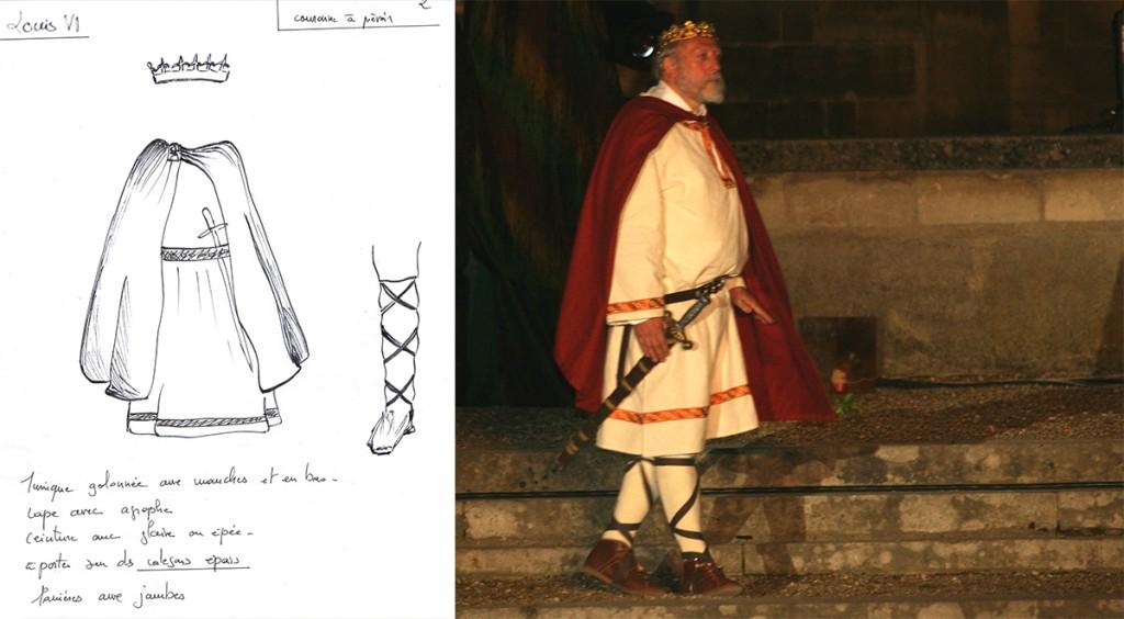 costume historique moyen age
