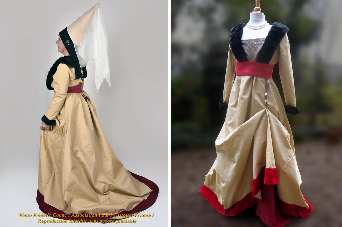 robe à tassel, costumes historiques