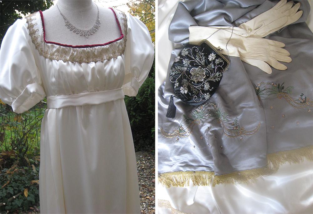 costumes historiques, robe de bal
