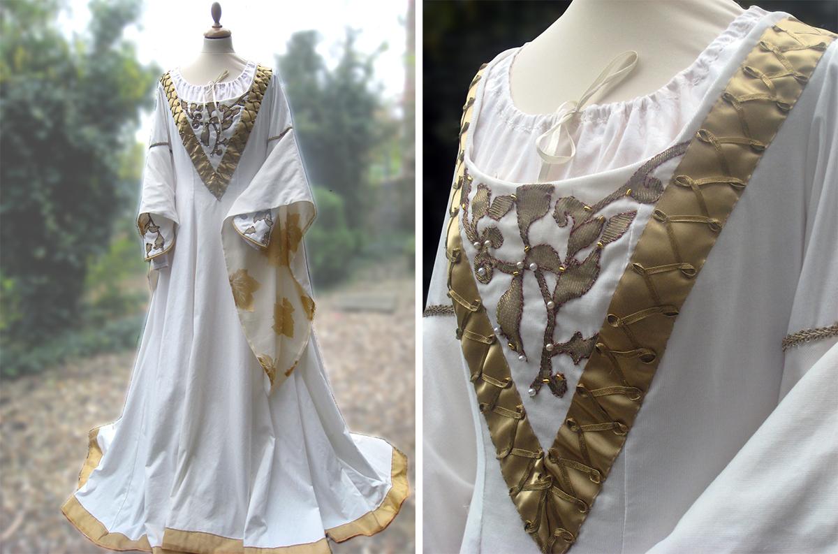 robe moyen age
