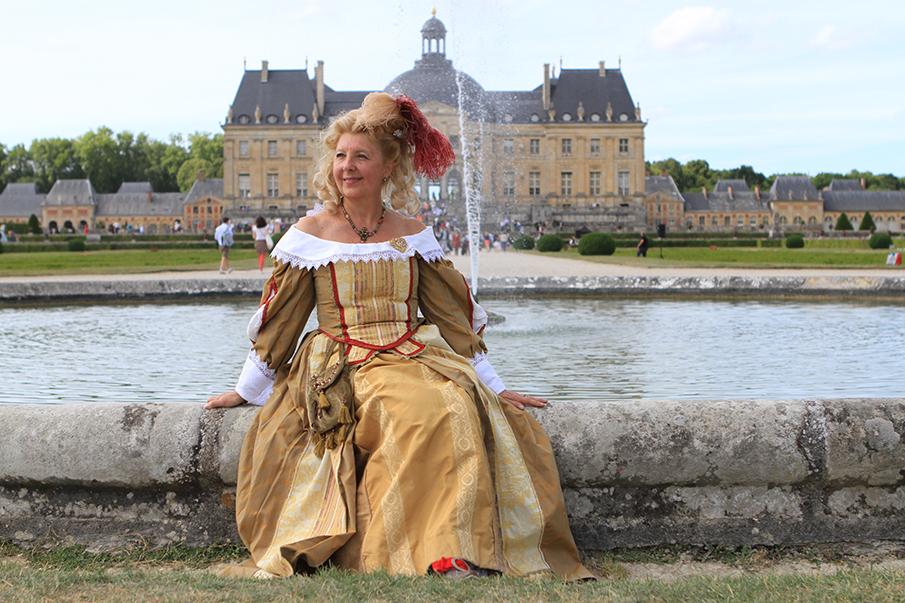 costumes historiques, Vaux le Vicomte, XVIIe siècle