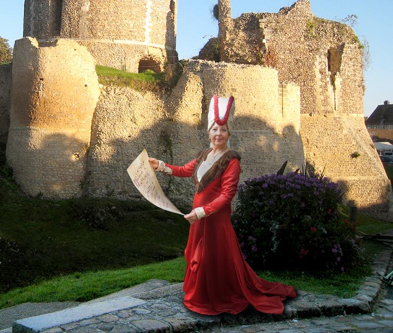 costumes historiques moyen age