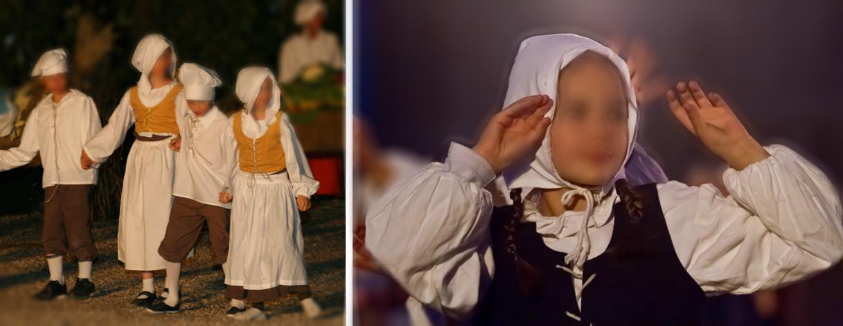 costumes historiques enfants